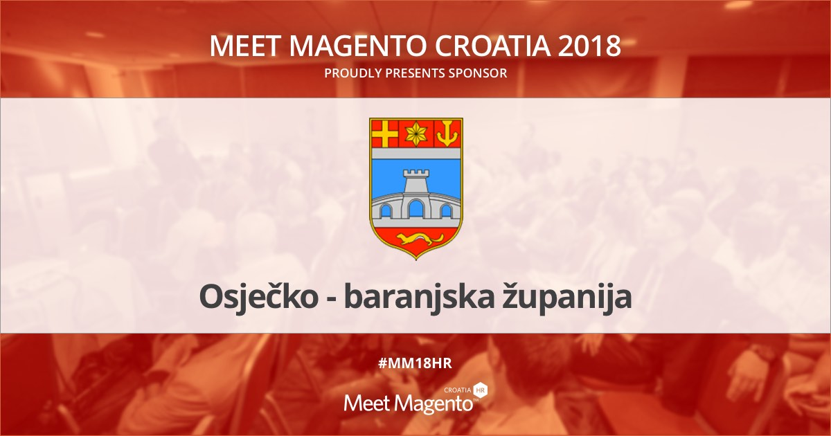 Osijek-Baranja County is a sponsor of Meet Magento Croatia 2018 conference