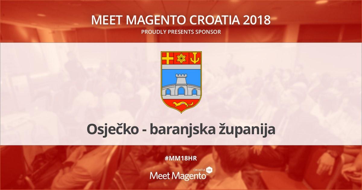 Osječko-baranjska županija je sponzor konferencije Meet Magento Hrvatska 2018.
