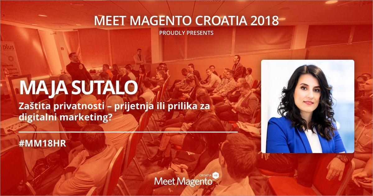Maja Šutalo dolazi na pozornicu #MM18HR držati predavanje na temu